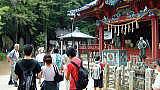 高尾山への社員研修