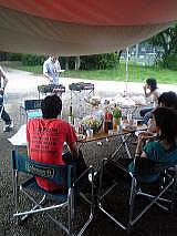 昭和公園でのバーベキュー会